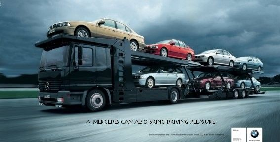 Mercedes rijden veroorzaakt  soms rijplezier